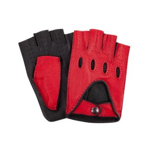 Bicolor hand-sewn Driving Gloves