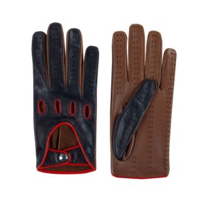 Bicolor  Driving Gloves