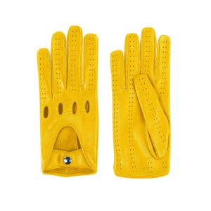 Yellow 202 Driving Gloves
