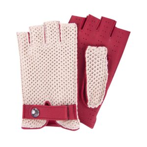 JOEY - FINGERLESS DRIVING GLOVES STRINGBACK STRING - RED