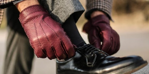 Peccary Gloves by Mazzoleni Gloves